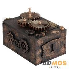 <b>Шкатулка с секретом Gearbox</b>, малая оптом под нанесение , Арт ...