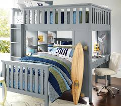 elliott full loft system twin bed set pottery barn kids within for for amazing house children twin bed plan
