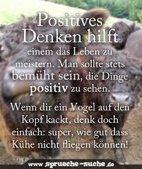 Spruch Positives Denken So Is Es Think Positive Positiv