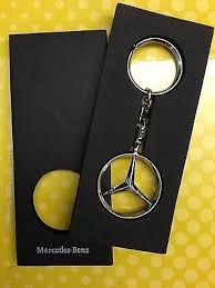 Mercedes leather auto keychain key chain ring fob new #272. Genuine Mercedes Benz Lifestyle Brussels Key Chain Ring 533097829