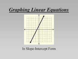 graphing linear equations powerpoint