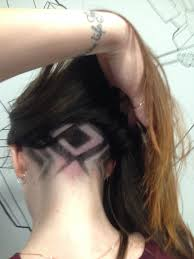 выбритый затылок Hair Tattoo Vera Belaya Womens Haircuts And