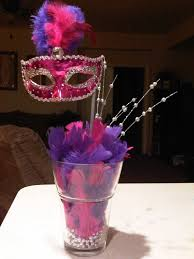 Mask Party Decoration Ideas masquerade party ideas Sweet 60 Masquerade Party Ideas Mask 1