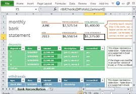 excel reconciliation template monthly bank reconciliation template for excel