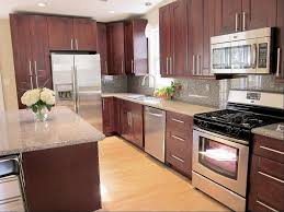 Mahogany Kitchen Cabinets For A Traditional Touch Kitchen Ideas