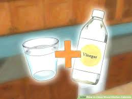 how to clean grease from kitchen cabinets how clean grease off kitchen cabinets image titled clean