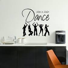 LARGE BEDROOM QUOTE DANCE MUSIC GIANT WALL ART STICKER GRAPHIC DECAL MATT  VINYL WALL DECAL