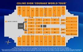 Fargodome Seating Chart Celine Dion Event Information Fargodome
