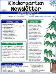 Teachers Newsletter Templates Newsletterplates Free Examples Ela Newsletter Templates