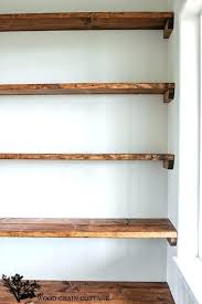 built in closet shelves dining room open shelving by the wood grain cottage building closet shelves