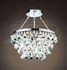 full size of nerisa 4 light chrome semi flush mount crystal chandelier helina chrome and crystal