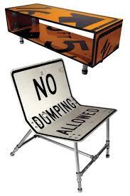 road sign furniture. road sign furniture geekologie c