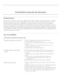Walgreens Job Description Job Description Fresh Resumes Cashier