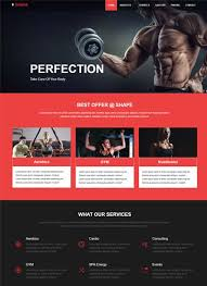 Best Website Templates Magnificent Best Sports Fitness Website Templates Free Download WebThemez