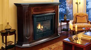 fireplace ventless gas fireplace corner white logs home depot safety natural vs vented free standing propane