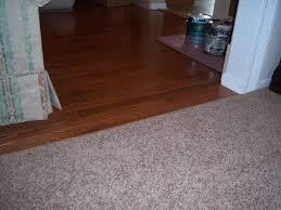 custom carpet to hardwood transition