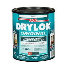 Drylok 1 Qt White Latex Waterproofer 2 Pack