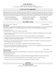 Construction Operation Manager Resume Operations Manager Cv Template