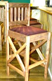 rustic outdoor bar table and chairs decor wood plans stools medium size of to build out rustic furniture bar stools