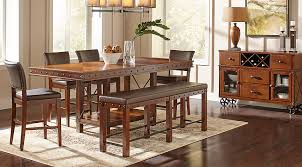 dark dining room furniture. modren furniture full size of dining roomcounter height table with faux marble dark  brown finish  intended room furniture