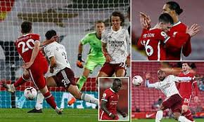 All over at anfield and what a win that is. Liverpool 3 1 Arsenal Diogo Jota Scores On His Home Debut To Seal Victory For Champions Daily Mail Online