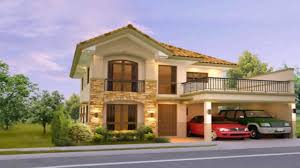 two storey house design with floor plan philippines youtube