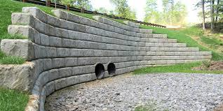 retaining wall concrete new hampshire