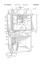 patent us5662024 solid state controlled popcorn machine google patent drawing
