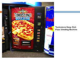 Tombstone Pizza Vending Machine Adorable How To Make Healthier Choices While On The Go  There Are Times