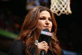 NBA Finals sideline reporter ...
