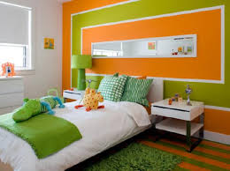 Orange And Green Living Room Colors