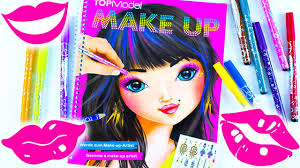 topmodel biz make up design book educational video for kids learn and play do it yourself