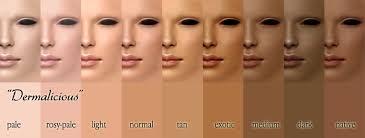 Skin Tone Nail Polish Color Matching Chart Lady Fabuloux Whats My Skin Tone