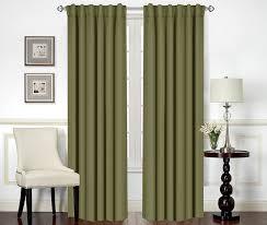 blackout room darkening curtains window panel ds