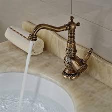 antique brass bathroom faucet. Antique Brass Bathroom Faucet B