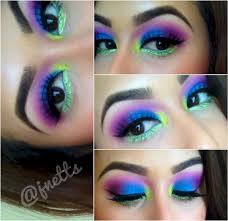 rave makeup ideas for beautiful colorful women makeup s tukuoke 50 stunning rave makeup ideas for beautiful colorful women makeup 5422
