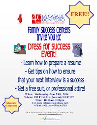 past events la casa de don pedro dress for success event