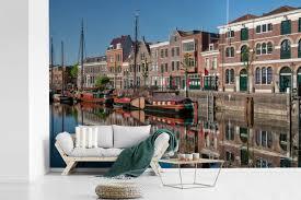 Bolcom De Delfshaven In De Nederlandse Stad Rotterdam Fotobehang