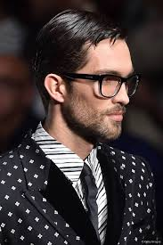 Mens Hairstyles With Glasses Slicked Back Hairstyles For Men The Eternal It Look