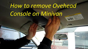 how to remove overhead console on caravan town and country how to remove overhead console on caravan town and country