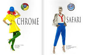 internet explorer costume women dressed as high fashion internet browsers snapzu com