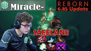 miracle wraith king safelane pro gameplay dota 2 mmr youtube