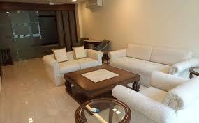 white modern living interiors by gaurav arora