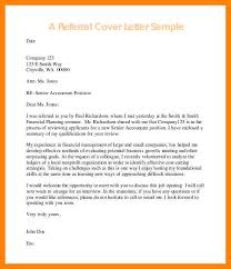 cover letter examples with referral 7 senior letter examples writing a memo