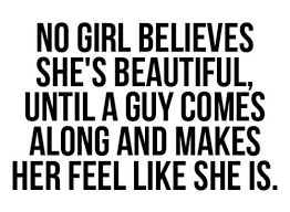 A Beautiful Quote For A Girl Best Of No Girl Believes She's Beautiful Beauty Quote Quotespictures