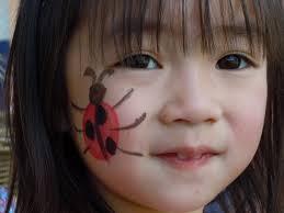 how to paint ladybug face makeup saubhaya gambarkucing
