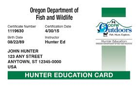 Hunter-ed Safety Hunter com™ Online Course Oregon