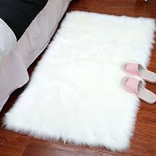 faux fur area rugs stylish ultra soft silky fluffy sheepskin for living room rug canada
