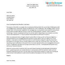 mortgage modification hardship letter sample hardship letter for work license employer of loan