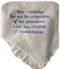 Grandmother Throw Blanket